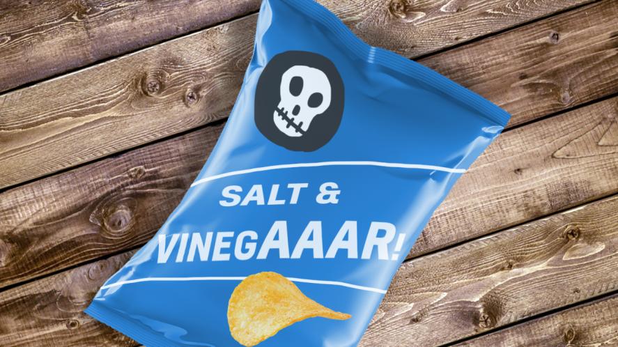 salt and vinegaaaar crisps