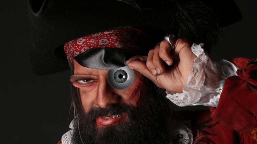 suspecting pirate