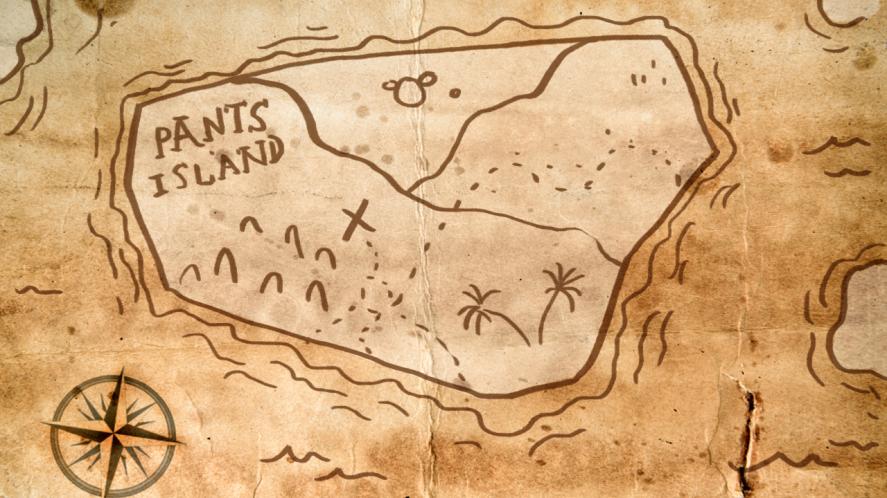 map of pants island