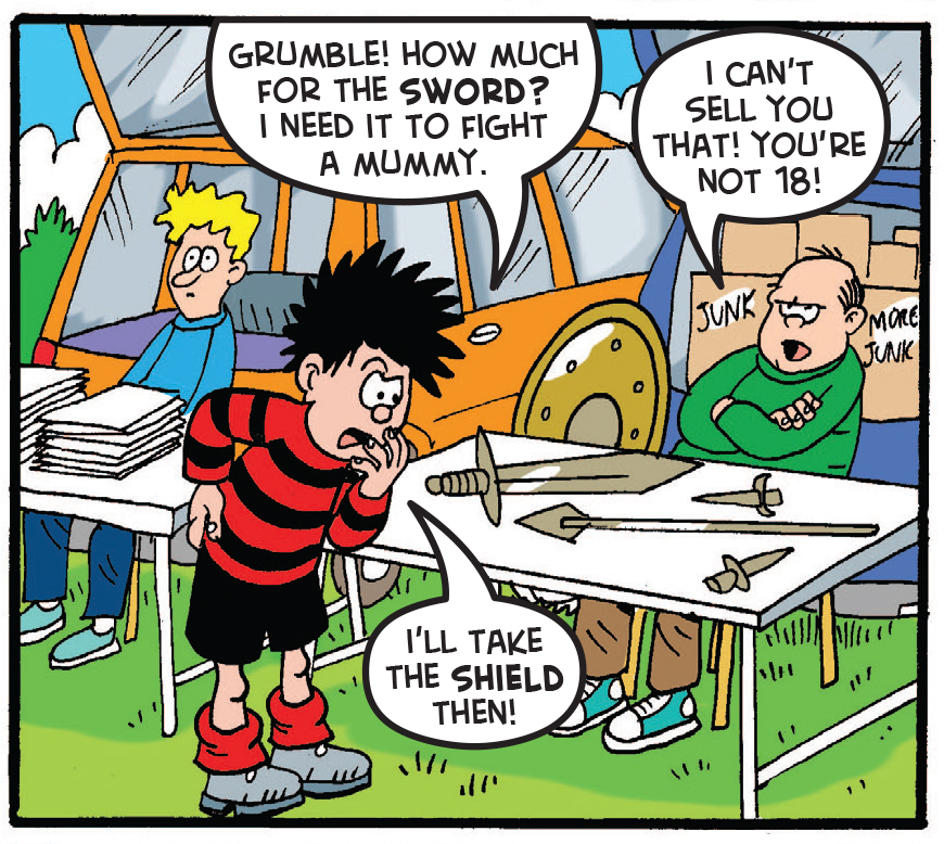 Dennis and the Curse of the Car Boot Mummy 14
