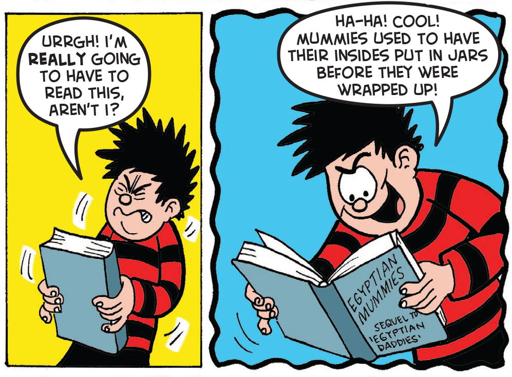 Dennis and the Curse of the Car Boot Mummy 25