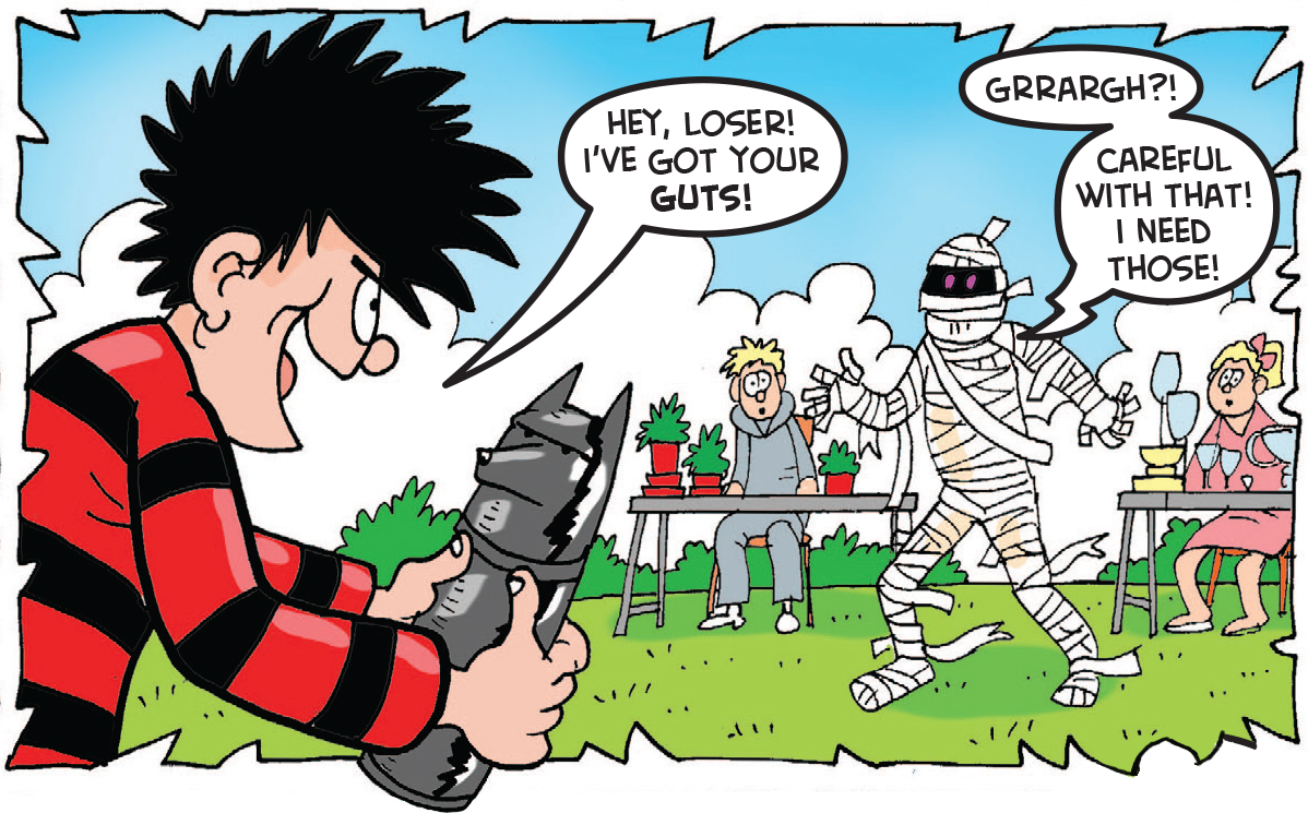Dennis and the Curse of the Car Boot Mummy 26