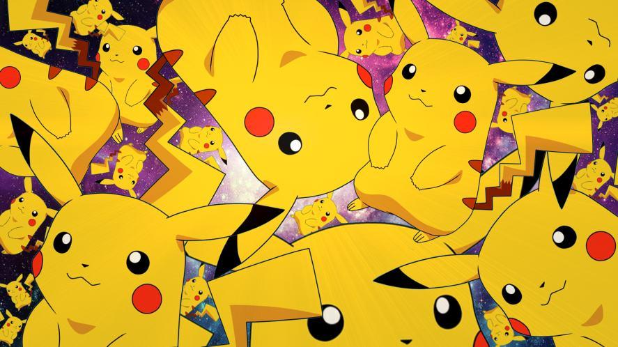 An infinite amount of Pikachus