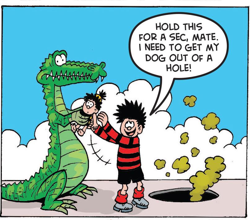Croc Shock: A helping (green) hand
