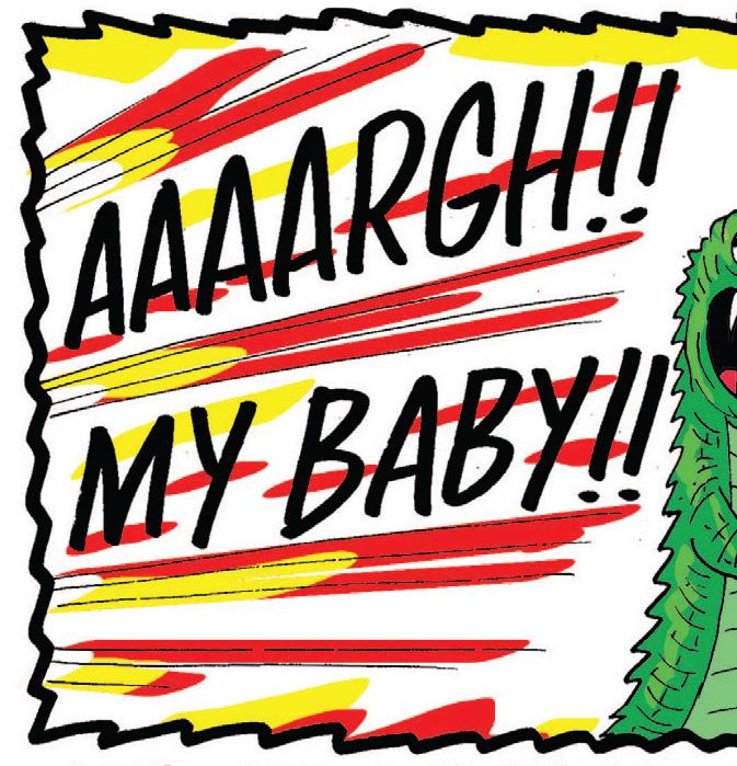 Croc Shock: Croc in your eye