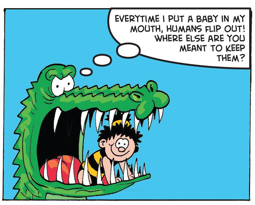 Croc Shock: I wonder why?