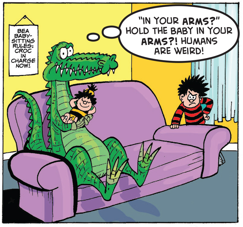 Croc Shock: How good are croco-mums, on a scale of one tooth ten?
