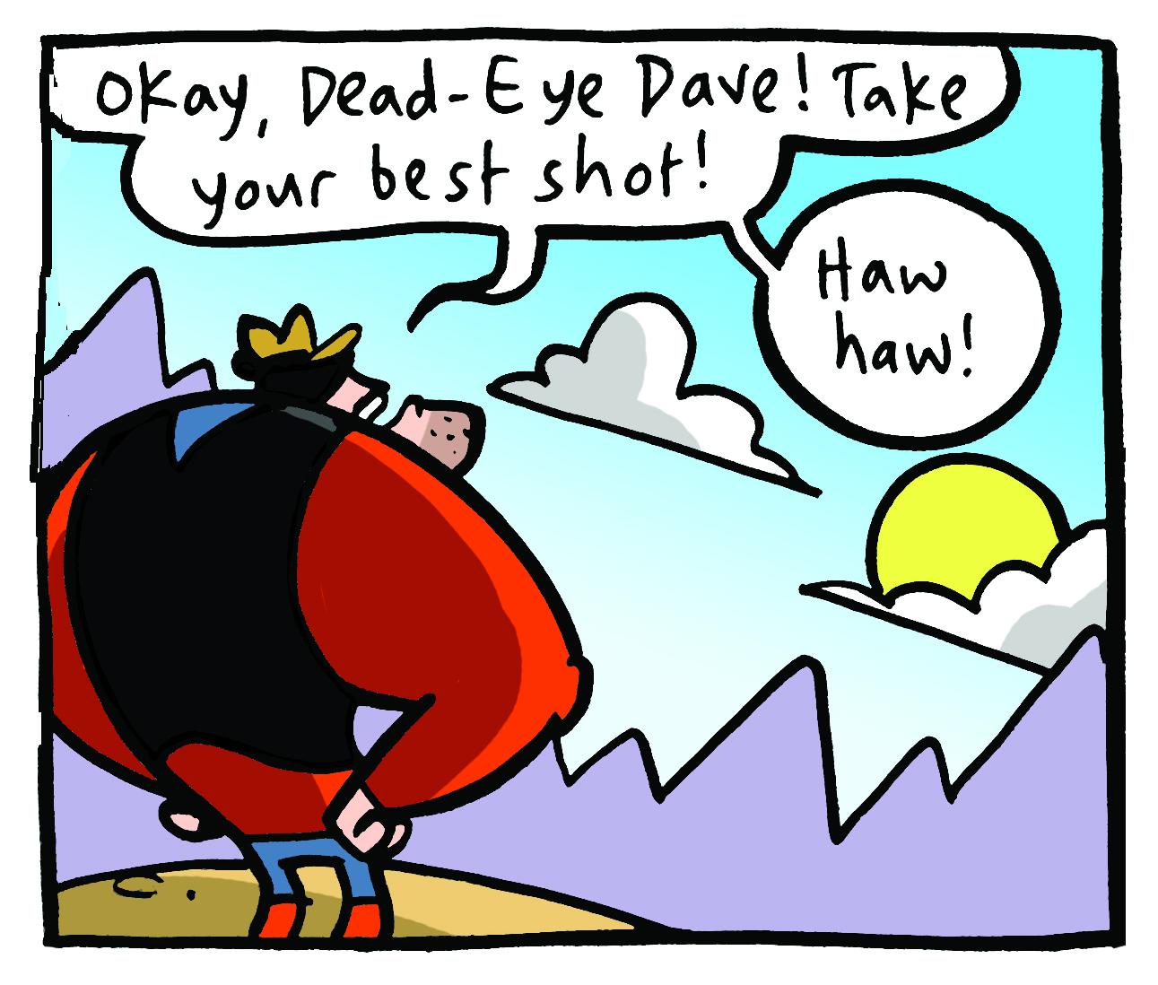 Desperate Dan by Jamie Smart
