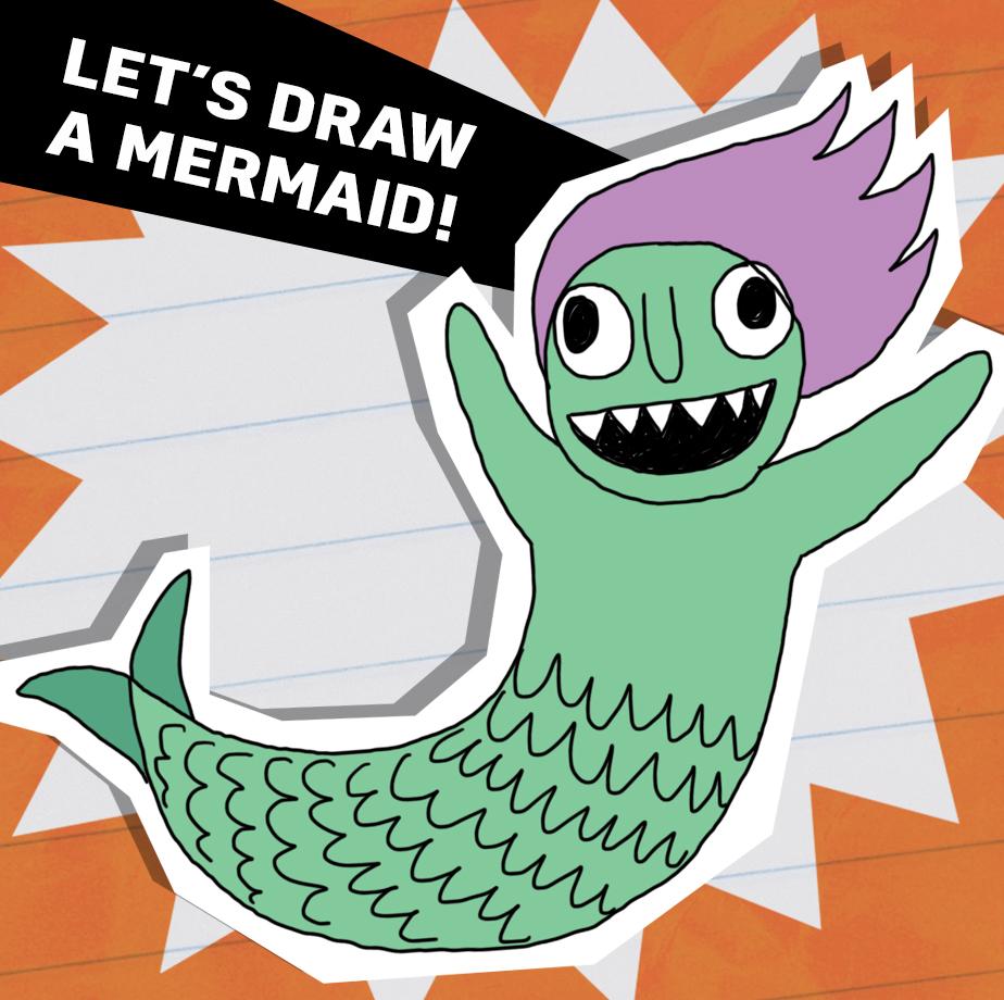Let's draw a mermaid