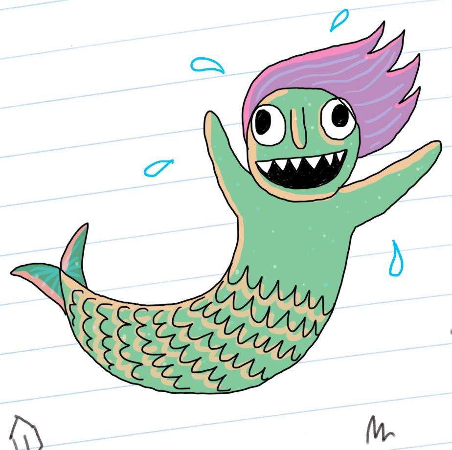 Mermaid POWER!