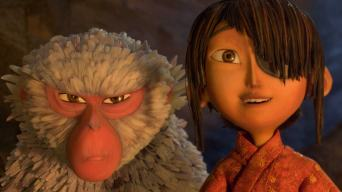 Kubo and Monkey from Kubo and the Two Strings Film