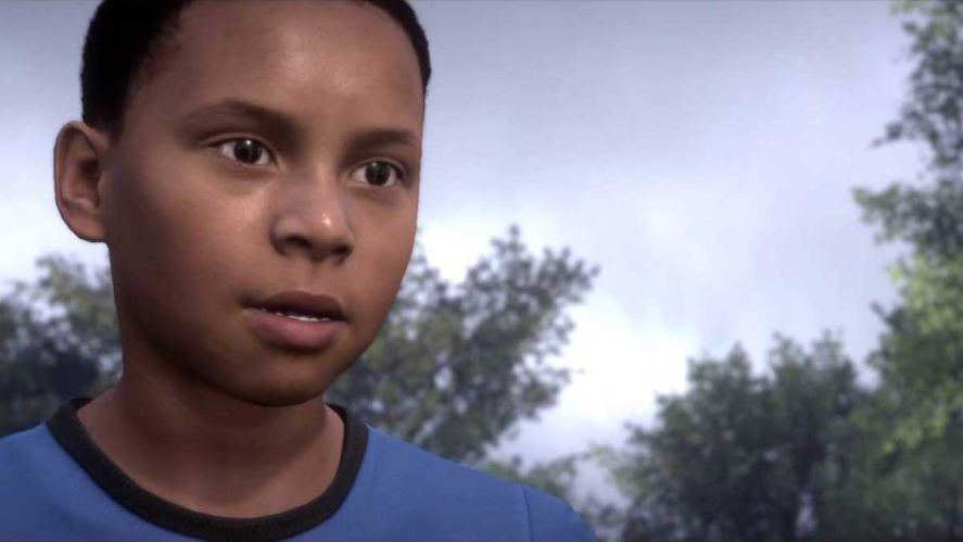 Alex Hunter as a wee lad