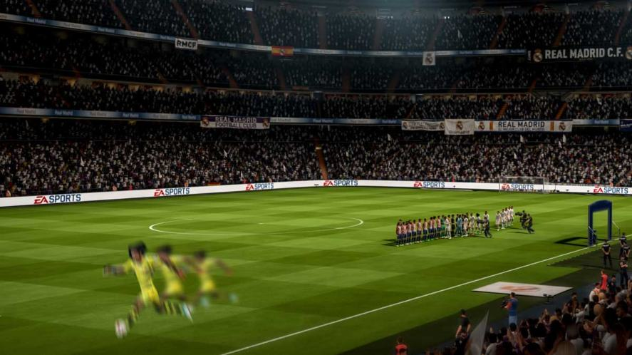 Someone whizzin' about the place in FIFA 18