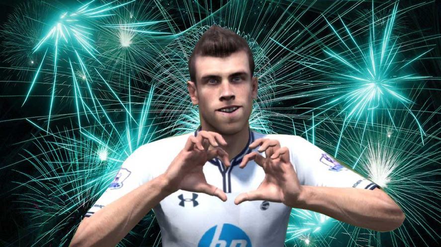 Gareth Bale is pretty impressed!