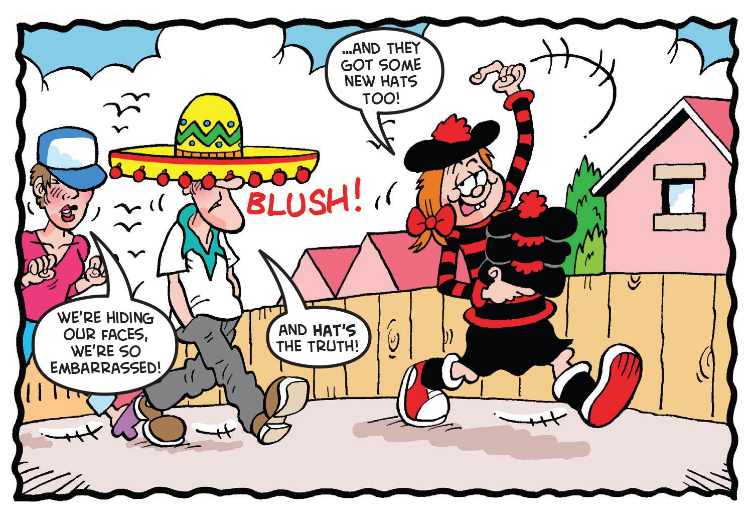 Hats off to Minnie the Minx