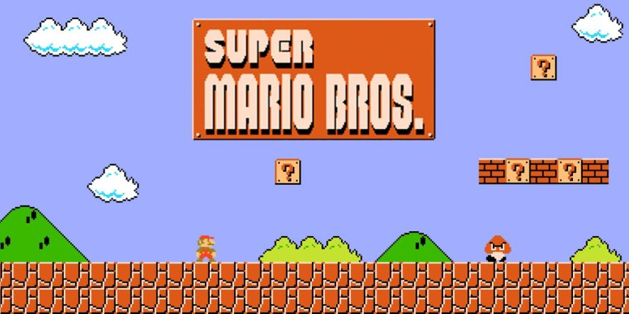 Super Mario Bros, which might or might not have come first