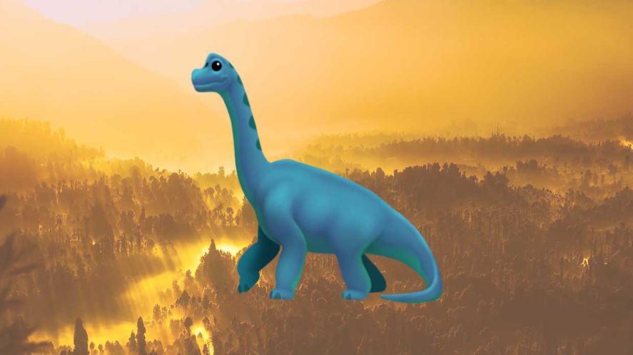 Dinosaur emoji