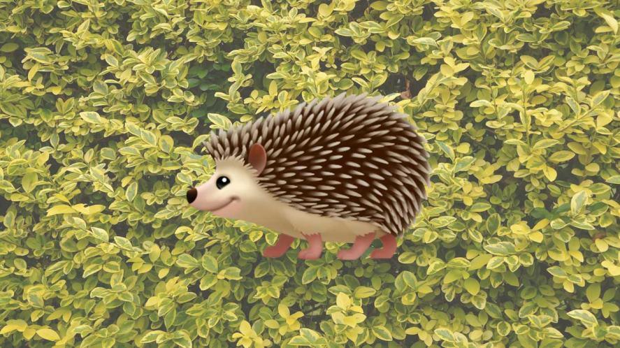Hedgehog emoji