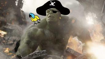 Hulk the Pirate