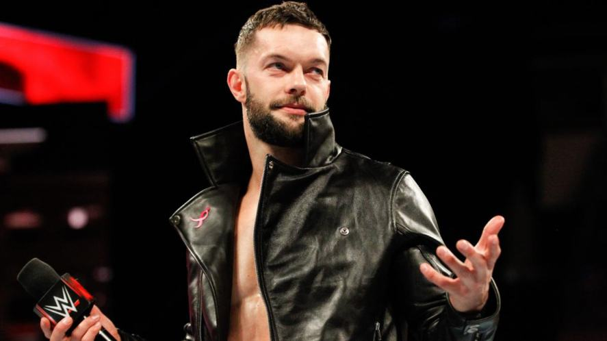 Wrestling quiz: a photograph of Finn Balòr wearing black