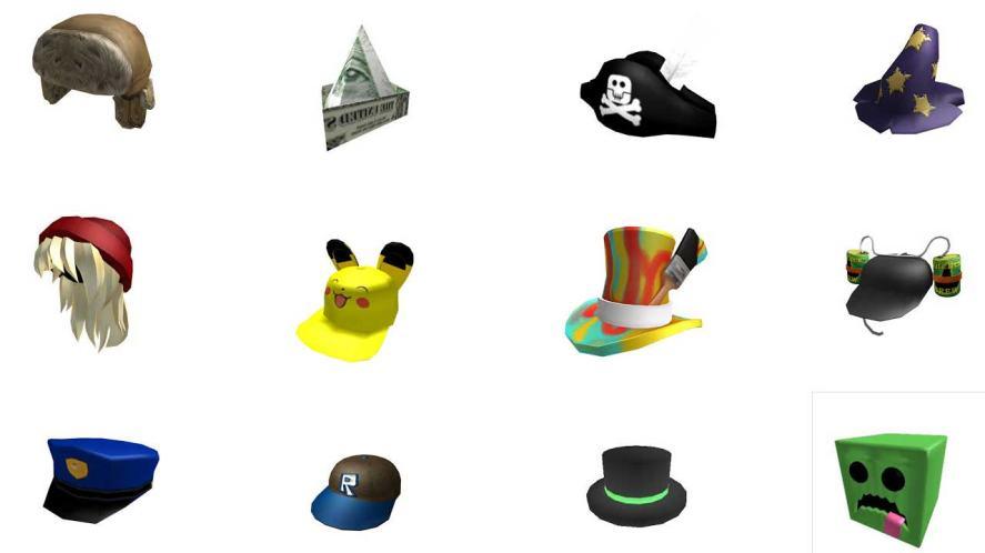 Roblox hats