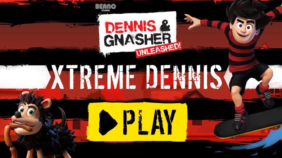Street Skateboard Game: Xtreme Dennis