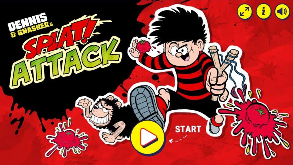 Play Dennis & Gnasher Splat Attack