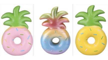Pinapple donut squishie