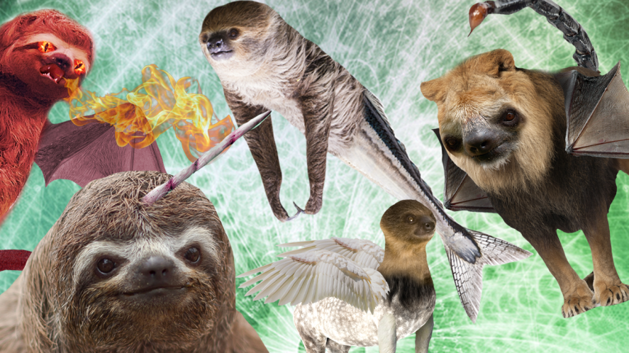 Slothical creatures