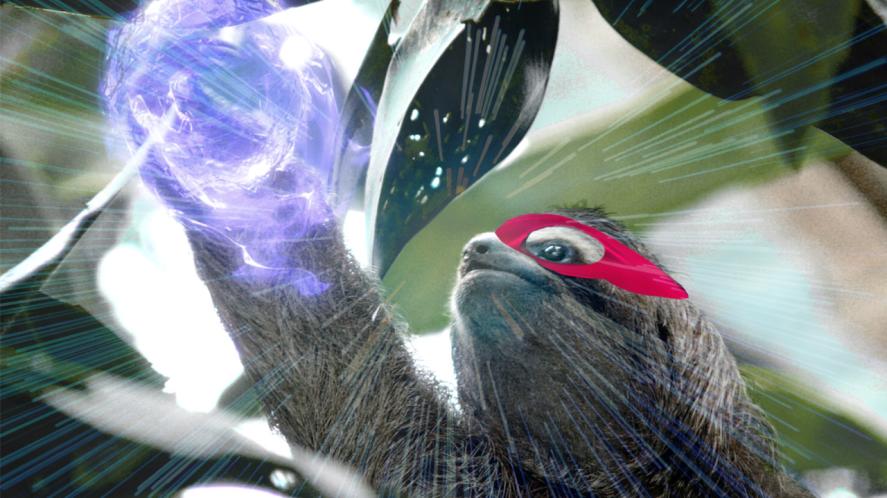 Super powered sloth