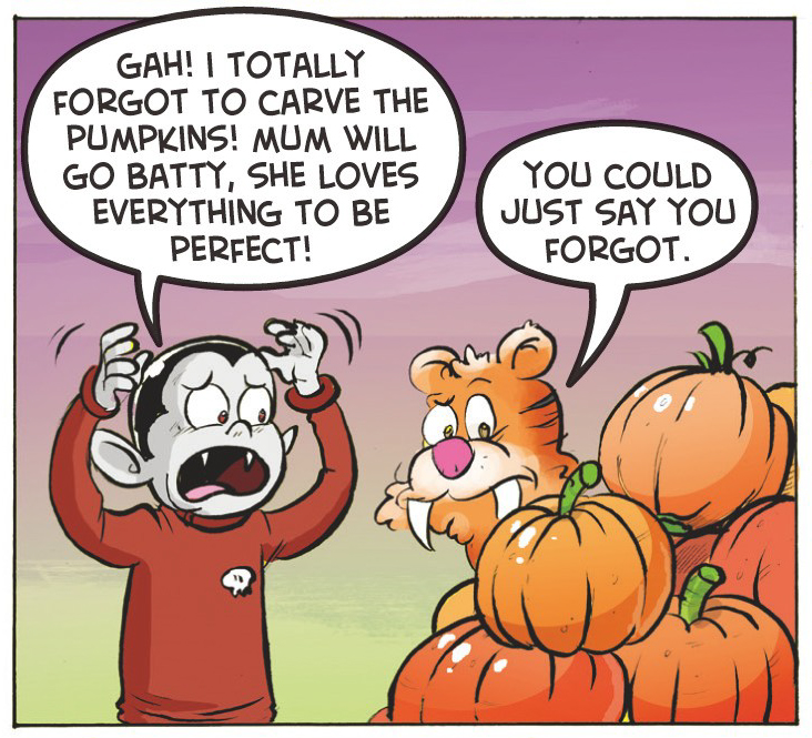 Pick a pumpkin, any pumpkin
