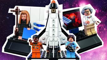 women of space lego