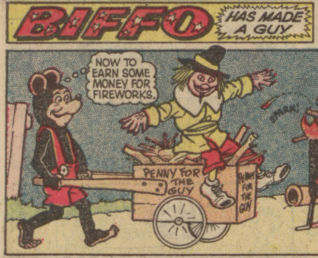 Biffo the Bear 1964 - Penny for the Guy