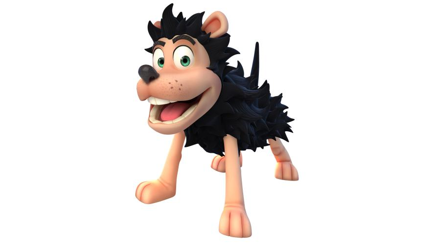 Gnasher from Dennis & Gnasher: Unleashed!