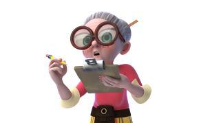 Mrs Creecher is Dennis' Teacher
