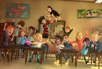 Class 3C from Dennis & Gnasher: Unleashed!