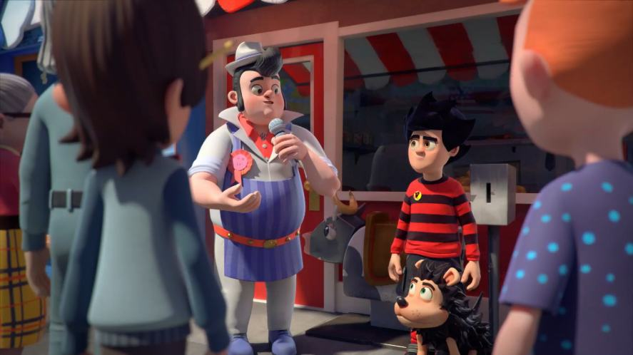 Dennis and Gnasher's sausages
