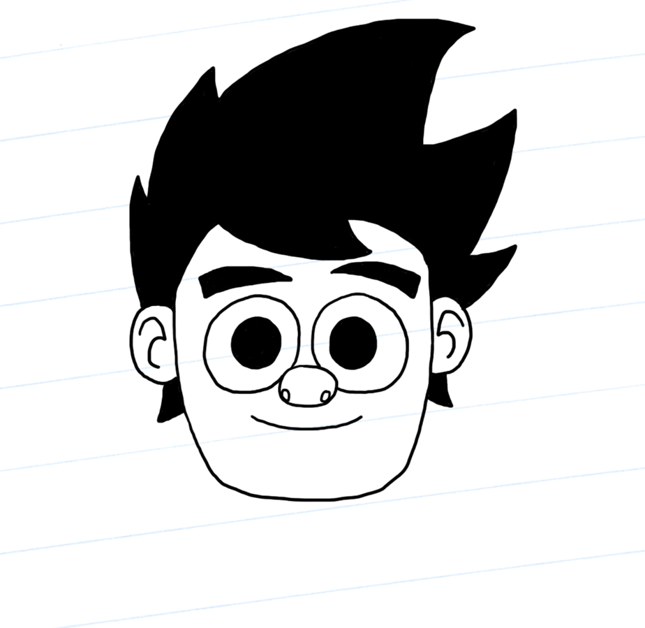 Dennis' head
