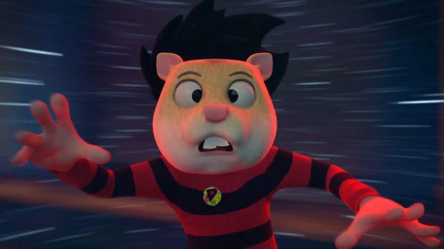 Dennis as a hamster