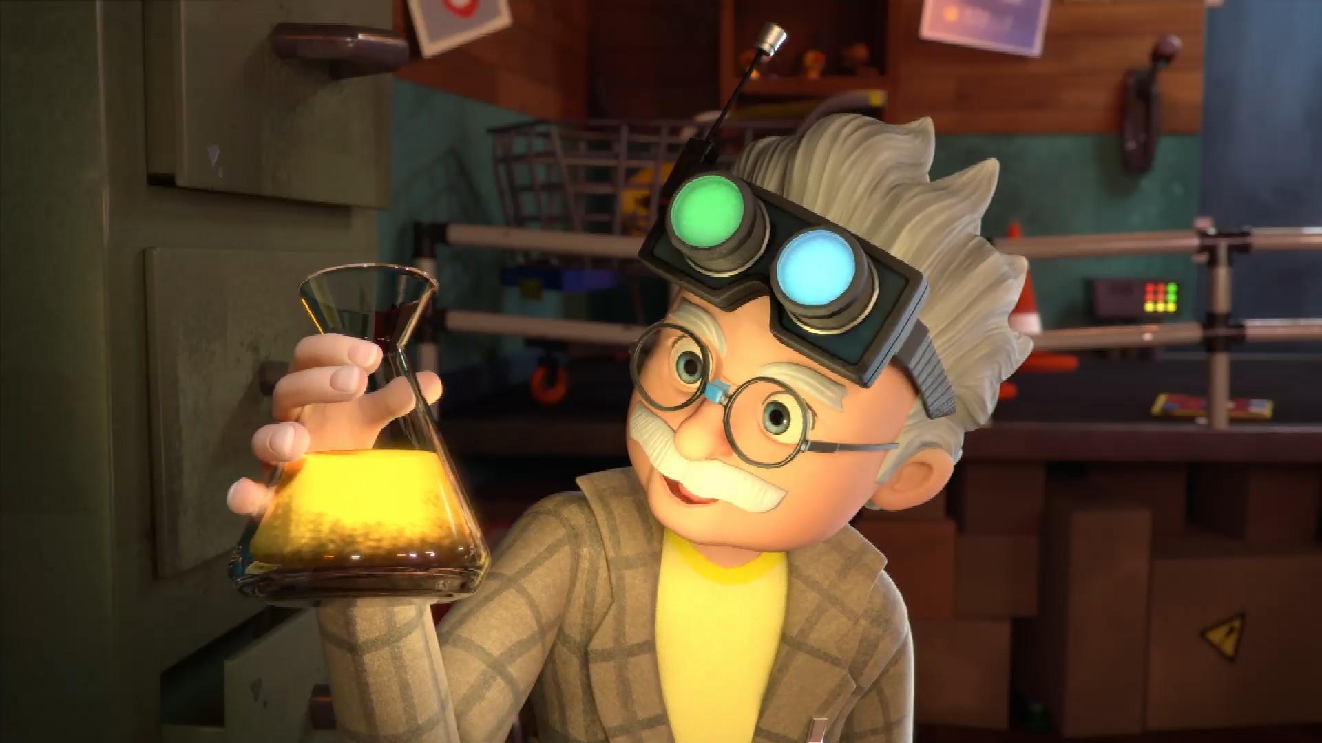 Professor Von Screwtop