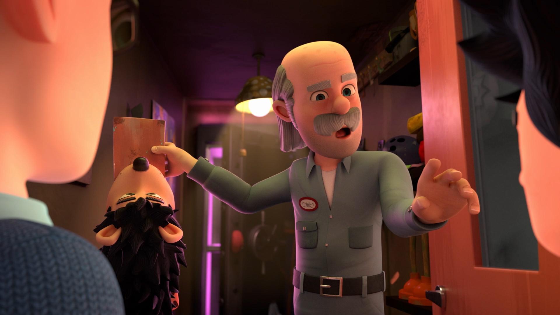Ralph the caretaker