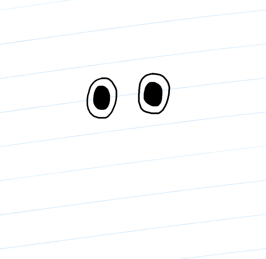 Gnasher's eyes