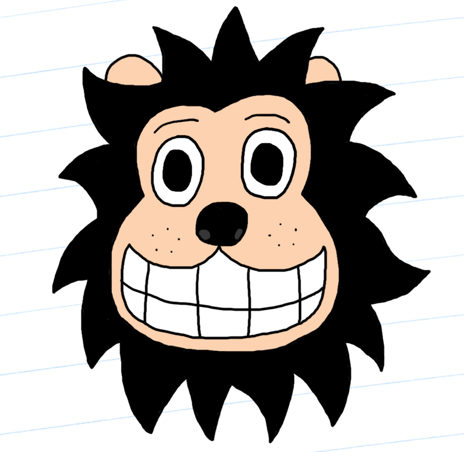 Gnasher all coloured and ready for ACTION!!