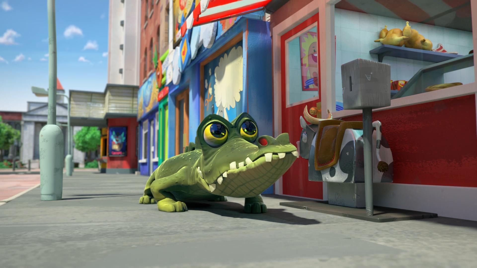 Butch Butcher's alligator!