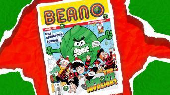 Inside Beano 3914 - The super-festive Christmas Beano!