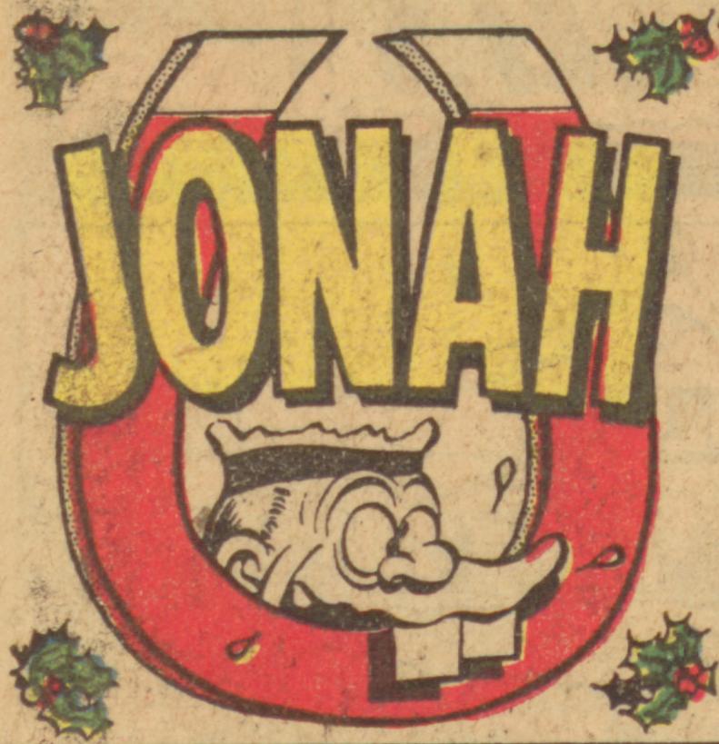 Jonah 1961 Christmas