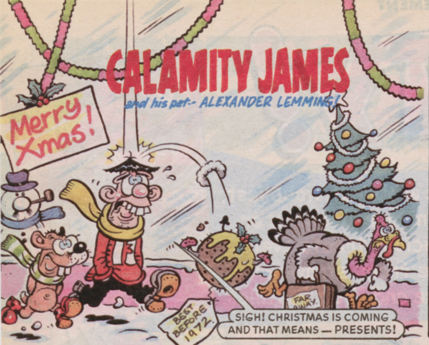 Calamity James 1999 Christmas