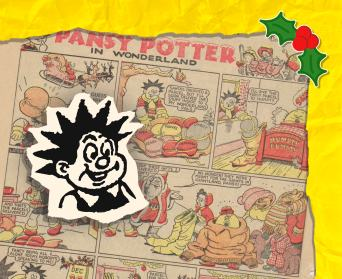 Pansy Potter 1952 Christmas