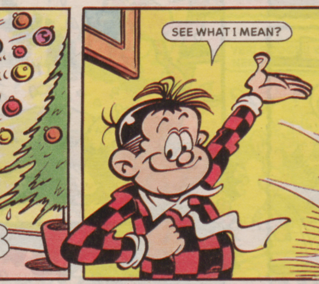 Roger the Dodger Christmas 1993