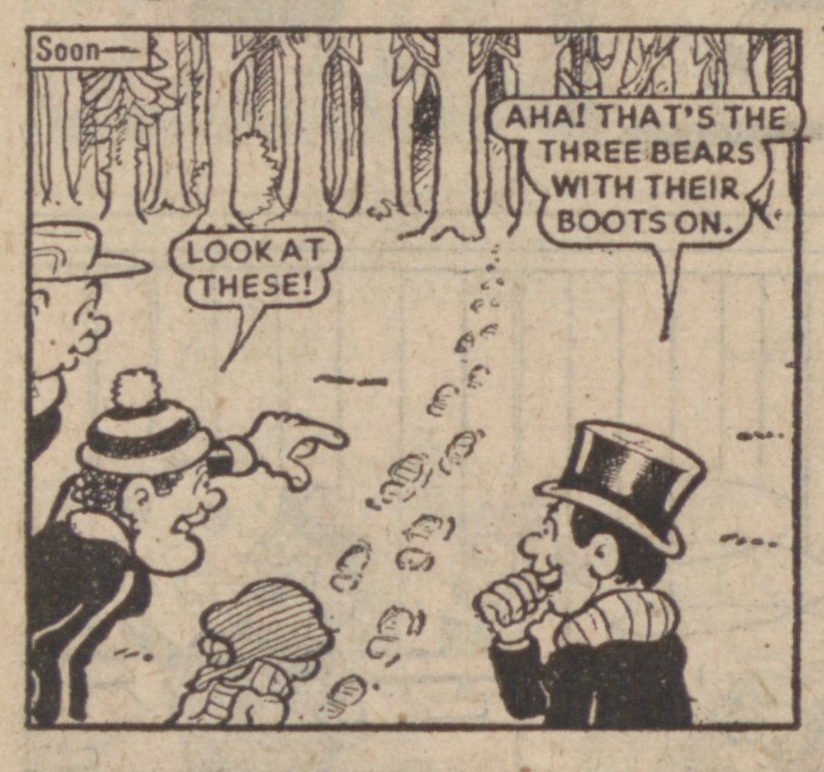 Lord Snooty Christmas 1976